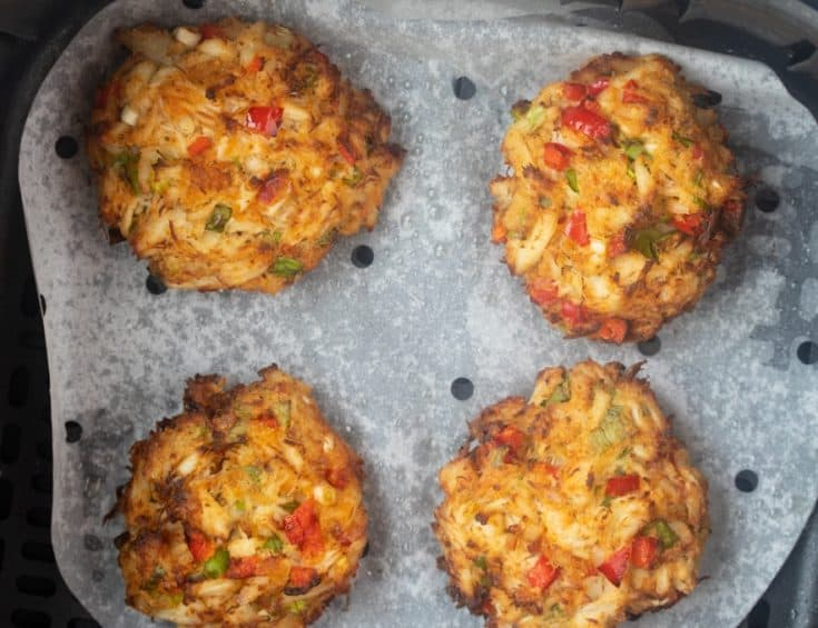 Easy Air Fryer Crab Cakes
