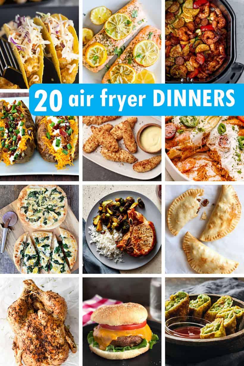 air fryer dinner ideas