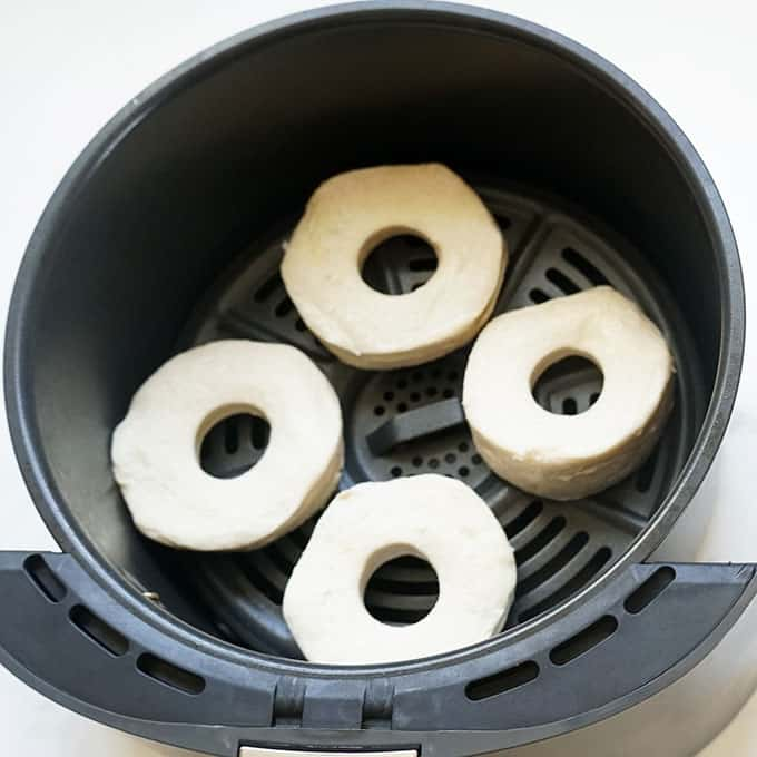donuts in air fryer