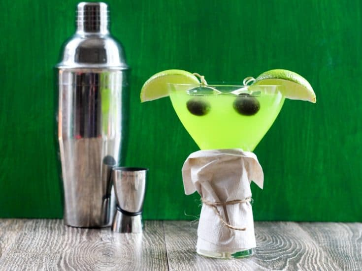 Baby Yoda Cocktail