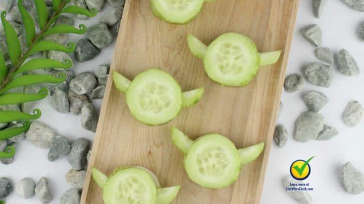 Yoda Cucumber Bites