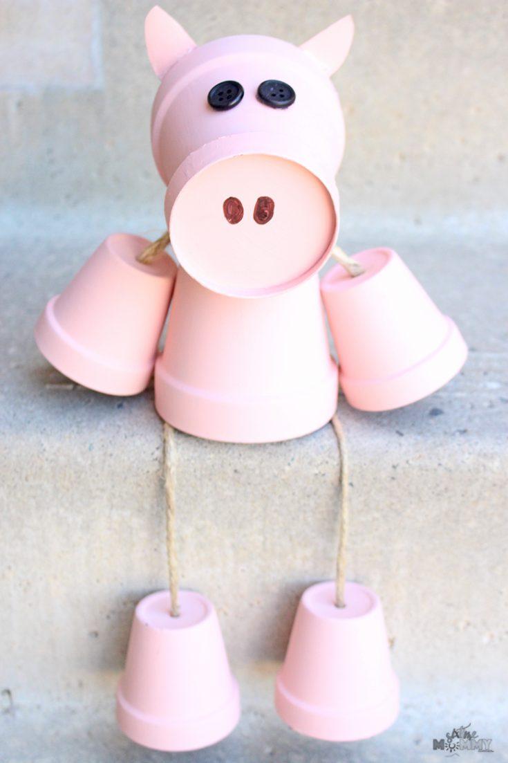 DIY front poch Piggy