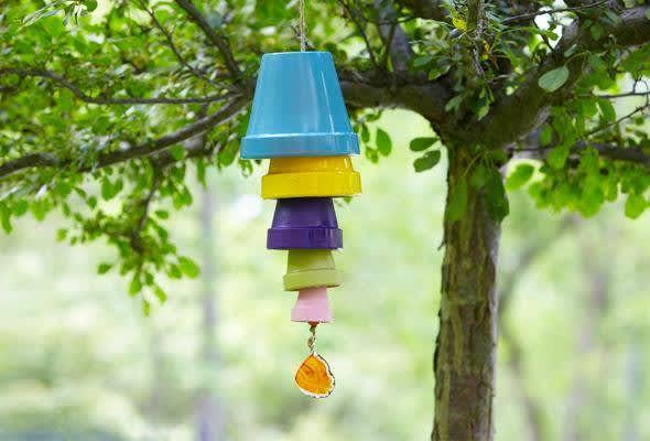 Terracotta Pot Wind Chime