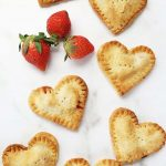strawberry Nutella hand pies (air fryer)
