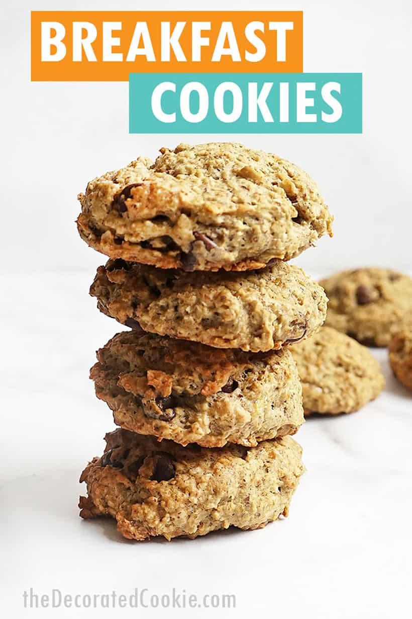 breakfast cookiess