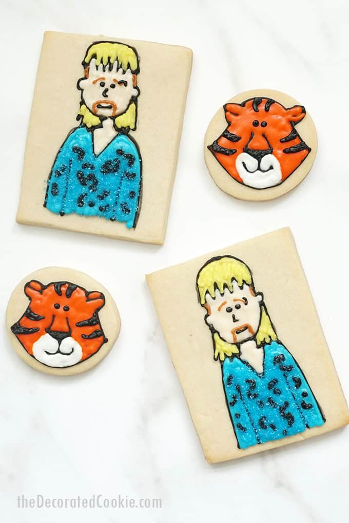 tiger king cookies