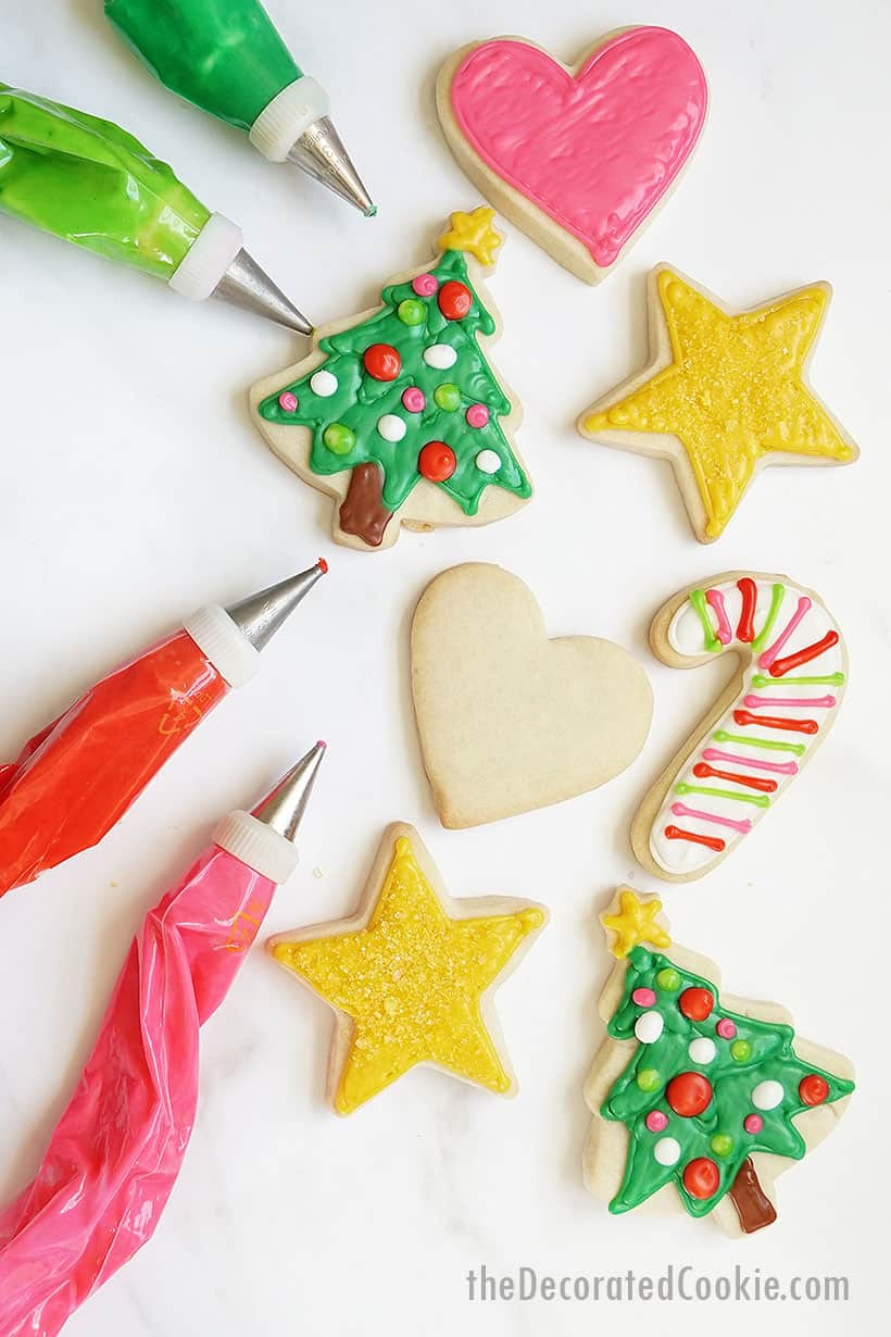 Sugar Cookie Icing Easy Recipe For Cookie Decorating