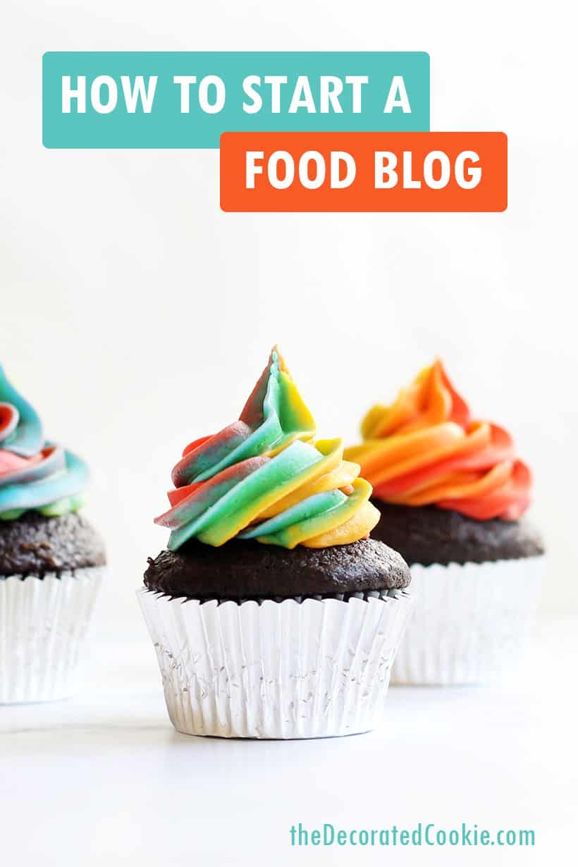 How to start a food blog -- blogging 101